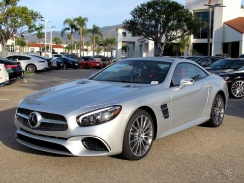 New Mercedes Benz SL SL 550