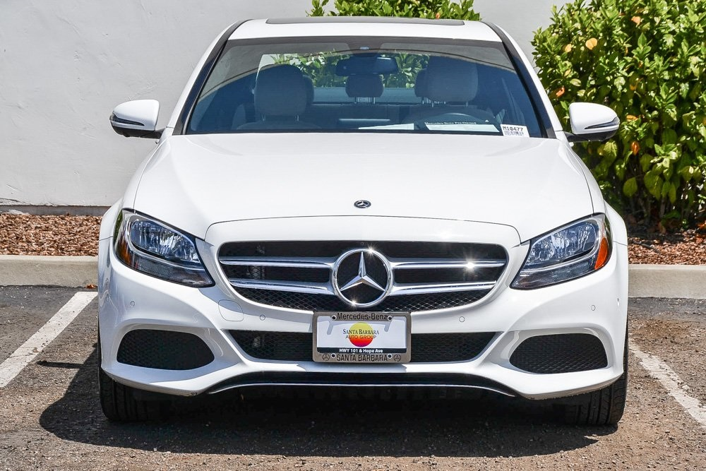 Pre-Owned 2018 Mercedes-Benz C 300 Rear Wheel Drive SEDAN