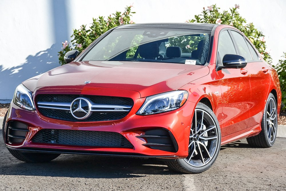 New 2019 Mercedes Benz C Class Amg C 43 Sedan Sedan In Santa