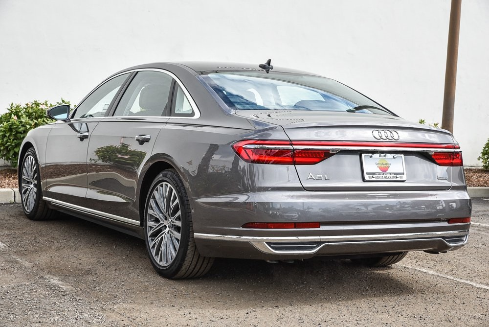 Pre-Owned 2019 Audi A8 L 55 4D Sedan in Santa Barbara # ...