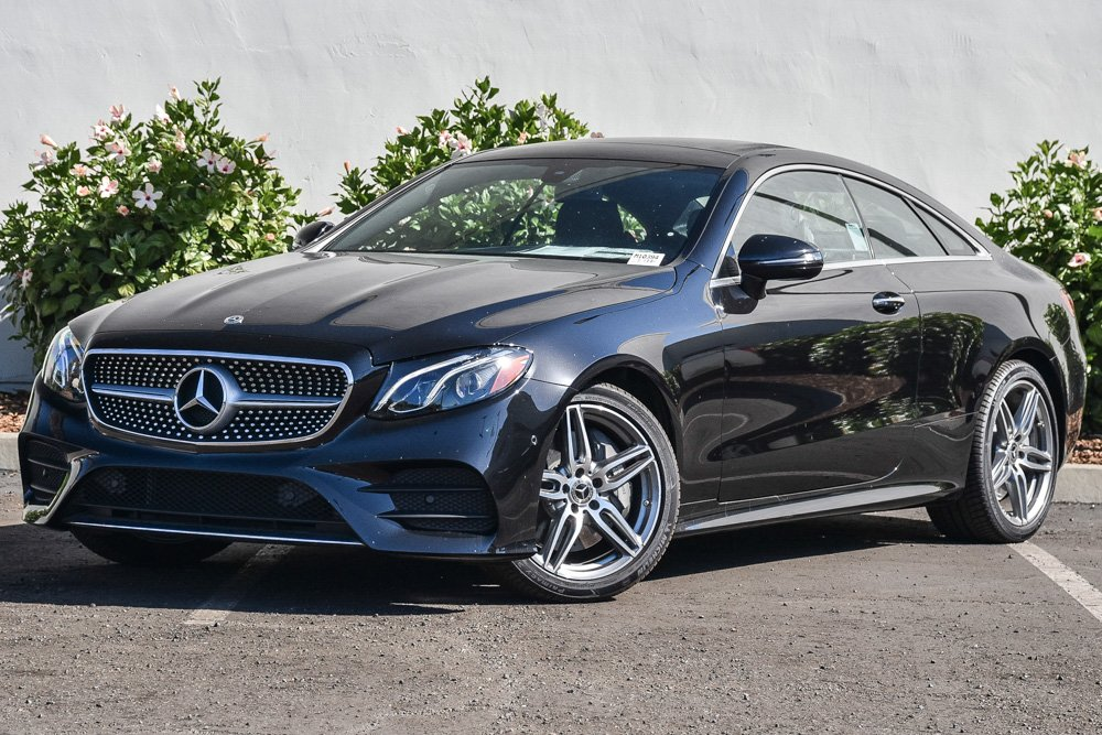 new 2018 mercedes-benz e-class e 400 sport coupe in santa barbara