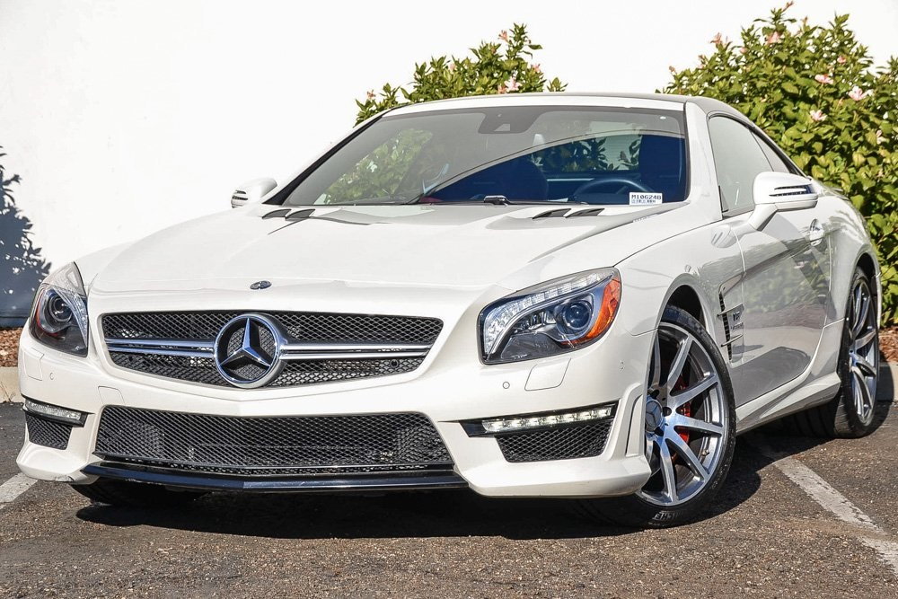 Pre-Owned 2013 Mercedes-Benz SL-Class AMG® SL 63