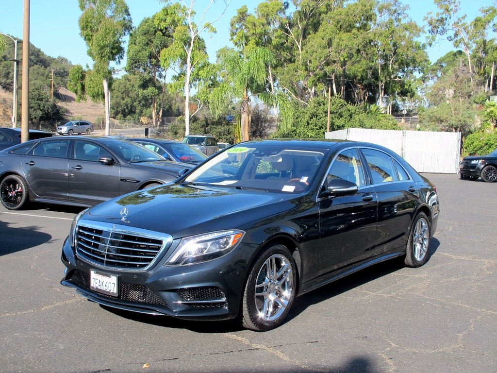 Pre owned 2014 mercedes benz s class s 550 4d sedan in for Pre owned s class mercedes benz