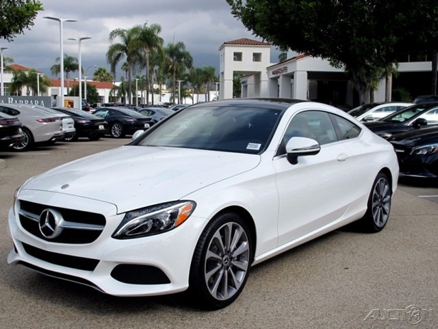 New 2018 mercedes benz c class c 300 2dr car in santa for Schedule c service mercedes benz