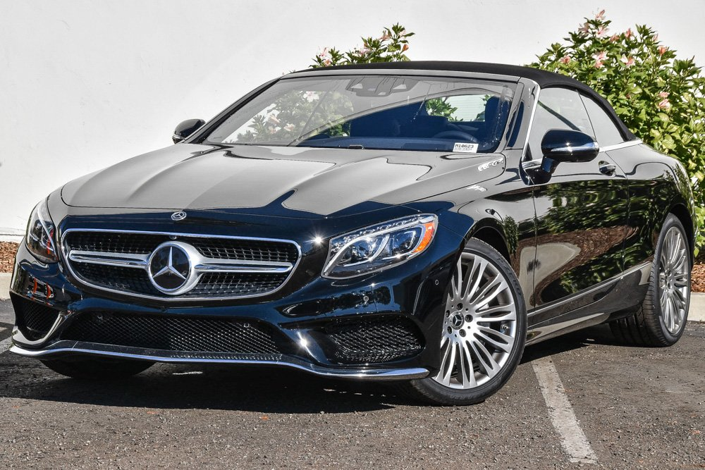 New 2019 Mercedes Benz S 560 Rear Wheel Drive Cabriolet